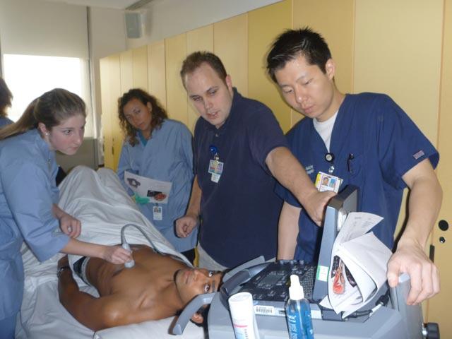 Anatomy course echo demonstration | SinaiEM