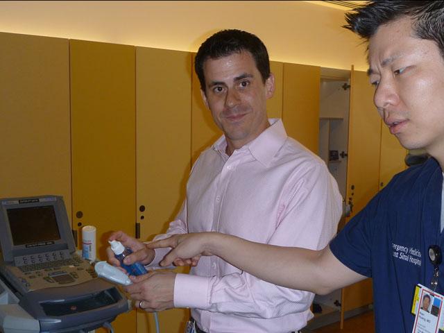 Alan makes sure Bret cleans the probe