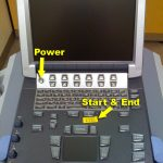 Power on the machine, then press the Start&End key to log in