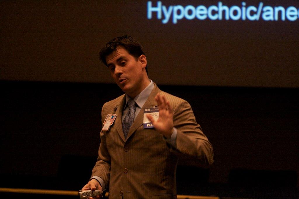 Bret Nelson explains ultrasound physics