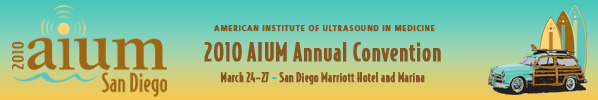 American Institute for Ultrasound in Medicine 2010 convention